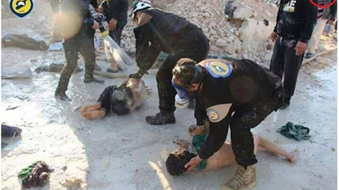 Sweden accuse White Helmets of slaughtering Syrian civilians in fake gas attack footage
