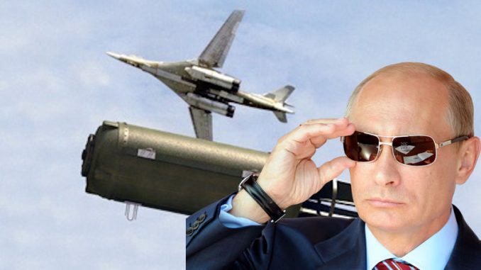 Putin unveils father of all bombs - four times more powerful that Trump's MOAB