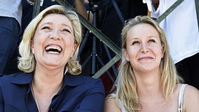 French women rally behind Marine Le Pen's vow to destroy the new world order