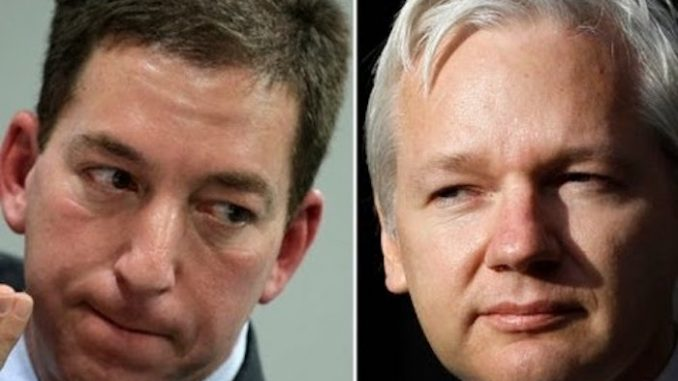 Glenn Greenwald has warned that the imminent arrest of WikiLeaks founder Julian Assange could end press freedoms for everyone in the U.S.