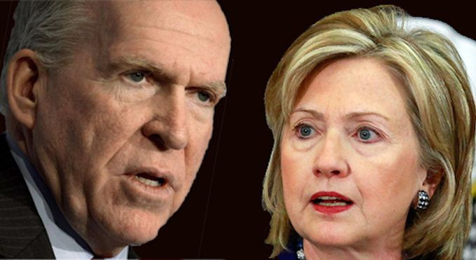 Former CIA Director John Brennan was behind a campaign of political espionage, organized by Hillary Clinton's campaign, to defeat Trump.