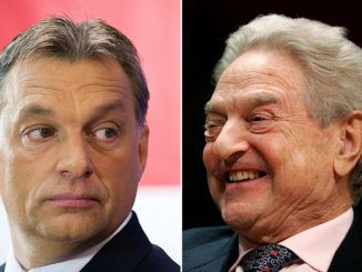 "Hungarian PM Viktor Orbán condemned globalist billionaire George Soros for ""ruining the lives of millions of Europeans."""