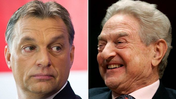 """Hungarian PM Viktor Orbán condemned globalist billionaire George Soros for """"ruining the lives of millions of Europeans."""""""