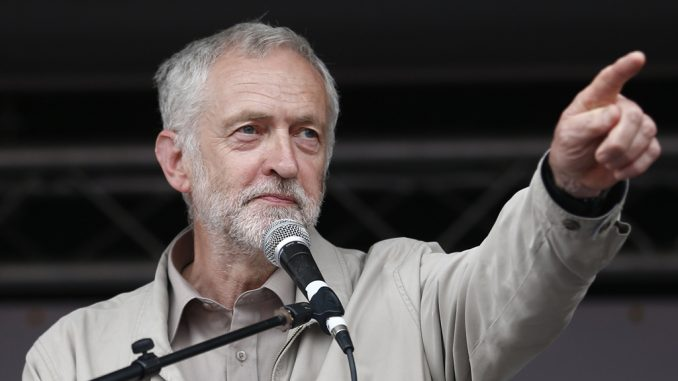 Jeremy Corbyn vows to end the corrupt elite rigged system
