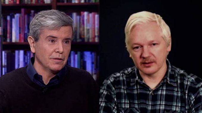 Julian Assange says Democrats invented the Russian hacking story following Clinton election loss
