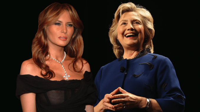Melania Trump has slammed Hillary Clinton for claiming the United States does not have a problem with pedophiles.
