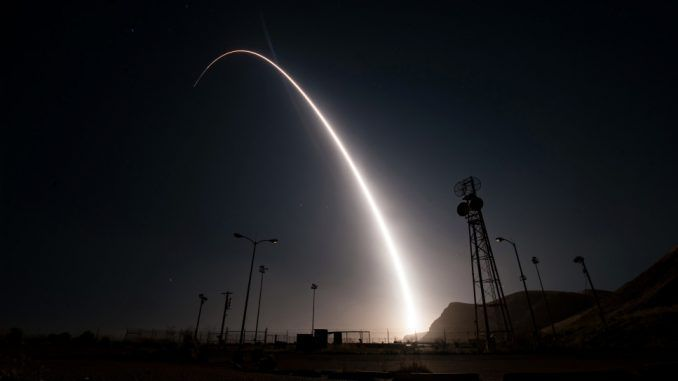 Minuteman missile launched off coast of California in show of strength against North Korea