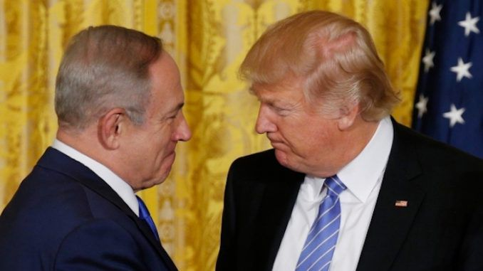 President Trump gave Netanyahu front row seats to watch the Syrian missile strike