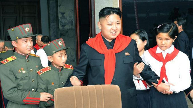 North Korean children have been trained in nuclear warfare and are preparing to 'wipe out' the US and Korea.