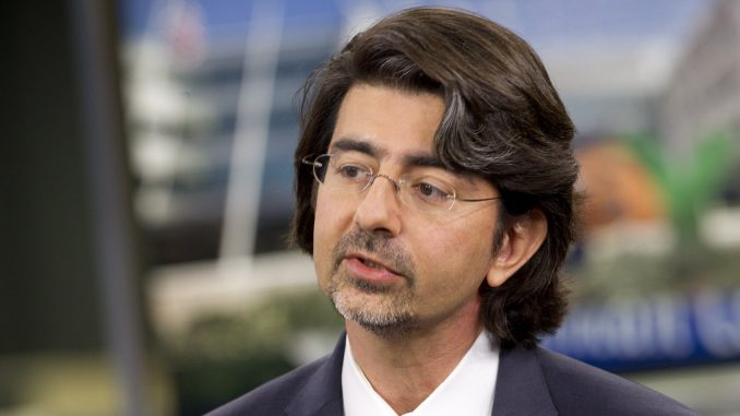 """Pierre Omidyar wants to influence your thoughts and beliefs with internet censorship to """"reestablish trust in government and institutions."""""""