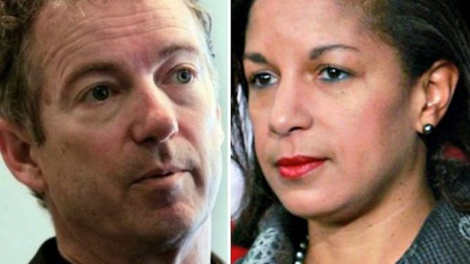 Rand Paul insists Susan Rice is brought before congress over unmasking claims