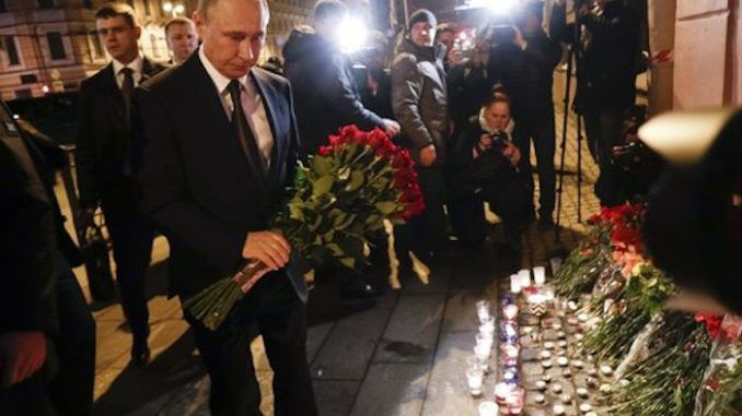 St Petersburg terror attacks exposed as Western plot to oust Putin