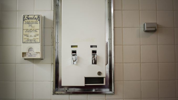 US university to provide tampons in male bathroom's
