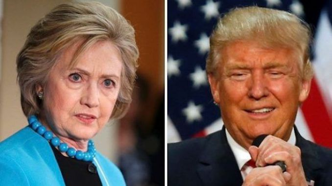 Trump would still beat clinton in an election by 43% according to a WaPo poll