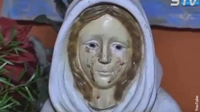 Pope Francis has launched an investigation after a Virgin Mary statue in Argentina was captured on video crying tears of blood.