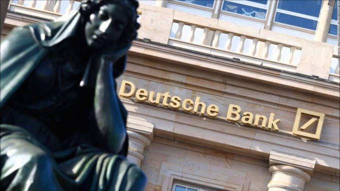 Deutsche Bank sued for operating criminal operation