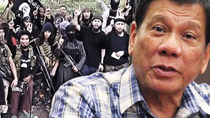 President Duterte claims that he is being targeted for assassination by the CIA after he publicly accused the agency of supporting ISIS.