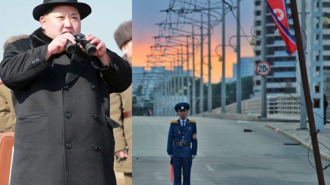 North Korea on lockdown amid threat of missile attack from US