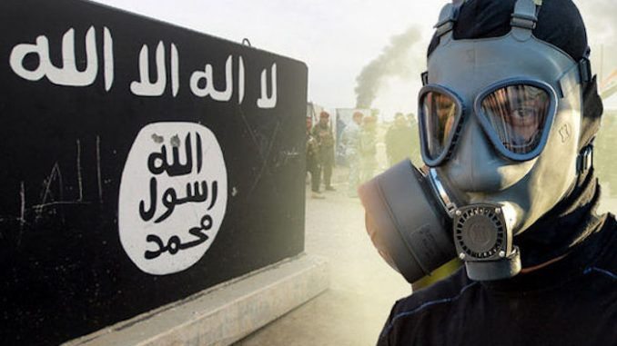 ISIS perform chemical weapons test on human guinea pigs