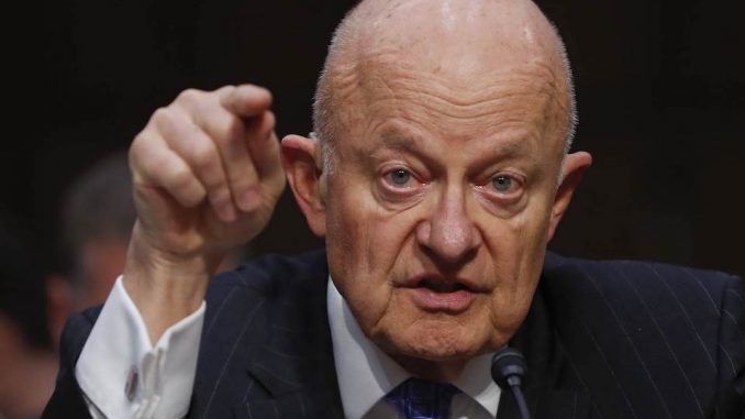 James Clapper claims Russia and Trump collusion stories are pure fantasy
