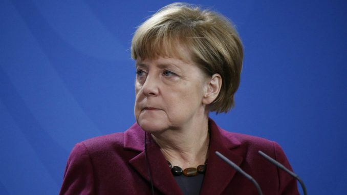 Angela Merkel vows to brainwash climate change doubters