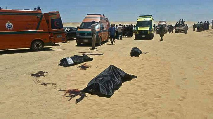 While the mainstream media remains silent, Christians in Egypt are being attacked and slaughtered by the busload by Muslim extremists.