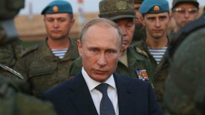 Putin says US has declared war on Russia