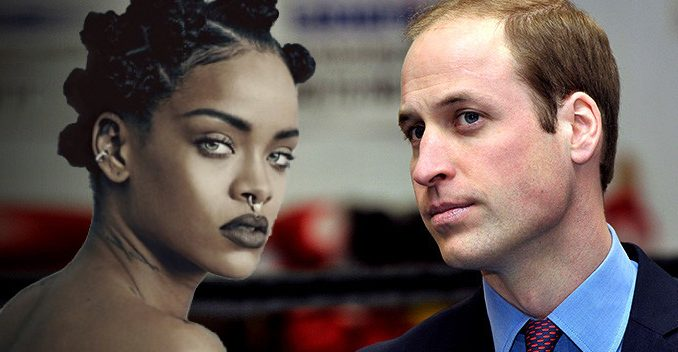 "Rihanna has told staff and associates that ""Prince William is the Antichrist"" and he will be the future king of a one world government promoted by the New World Order."