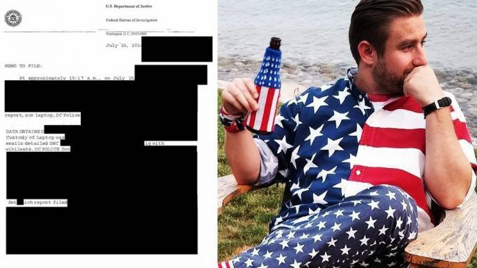 Leaked FBI memo proves Seth Rich leaked DNC documents to WikiLeaks