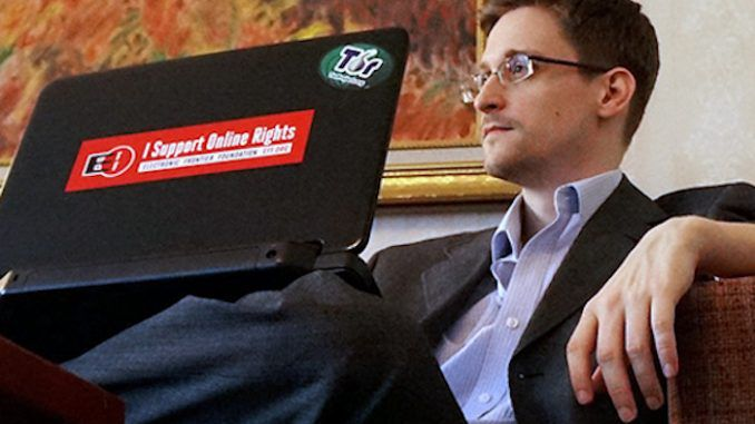 Edward Snowden blames NSA for global malware attack