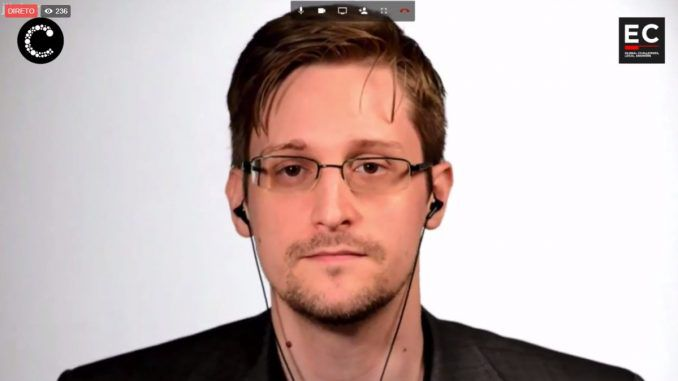 Edward Snowden says government's are to blame for taking away citizen rights, not terrorists