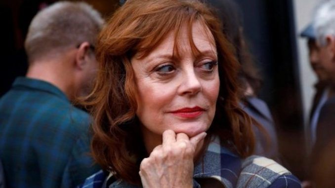 Actress Susan Sarandon claims that Trump is either going to quit or be forced out of office before the end of his first term