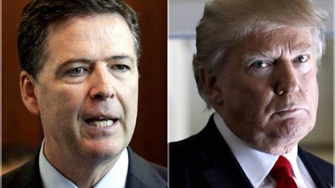 Trump blasts James Comey for exonerating 'guilty' Hillary