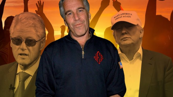 Trump implicated in pedophile sex slave lawsuit involving Bill Clinton and Jeffrey Epstein
