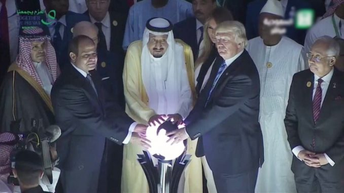Trump speech in Saudi Arabia warns of coming World War 3