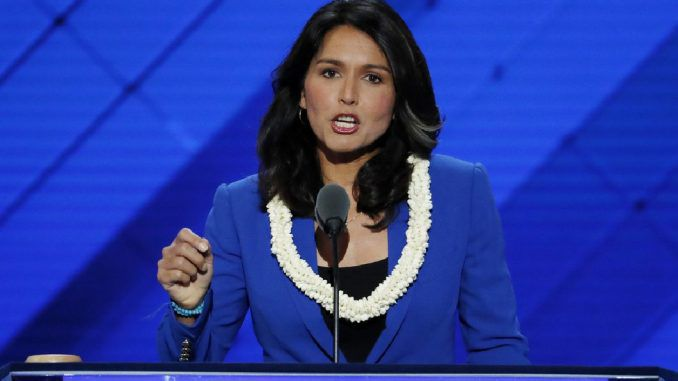 Congresswoman Tulsi Gabbard accuses Trump of selling weapons to ISIS and Al-Qaeda