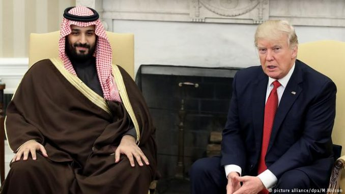 White House closes $100 billion deal with Saudi regime