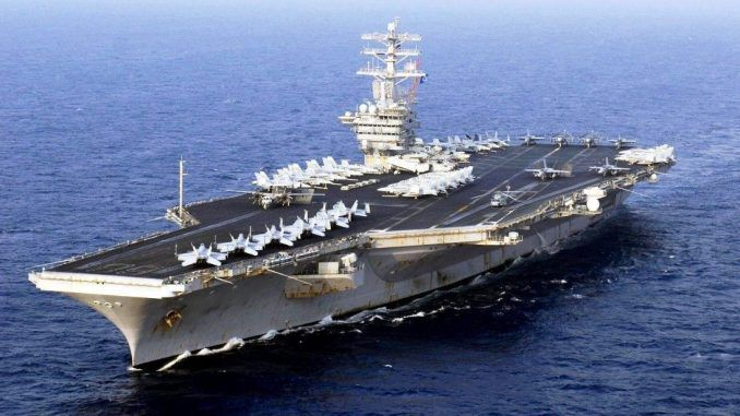 Naval Strike Force deployed towards North Korea