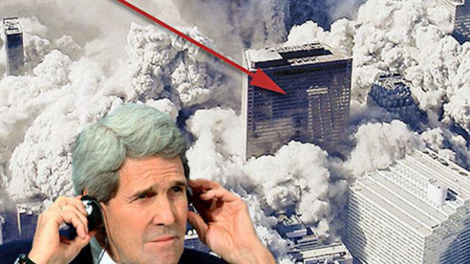John Kerry admits that WTC 7 was brought down by controlled demolition on 9/11