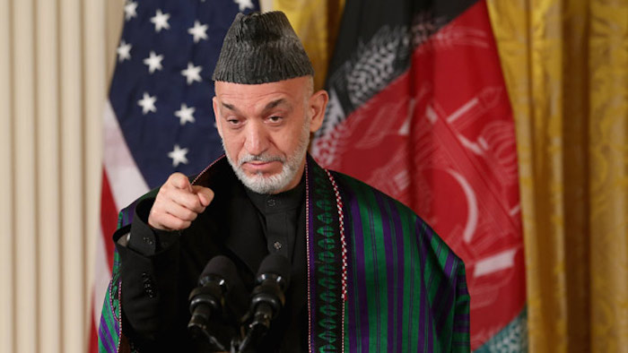 Former President of Afghanistan Hamid Karzai says that the USA created ISIS