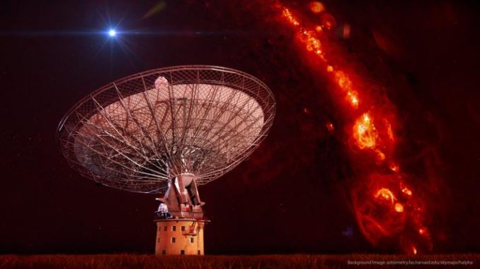 Harvard scientists receive alien signal from outer space