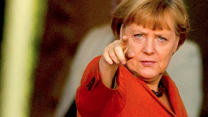 Angela Merkel warns that Britain will pay the price for stopping free movement of people