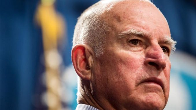 California Governor Jerry Brown demands more money to fight Trump