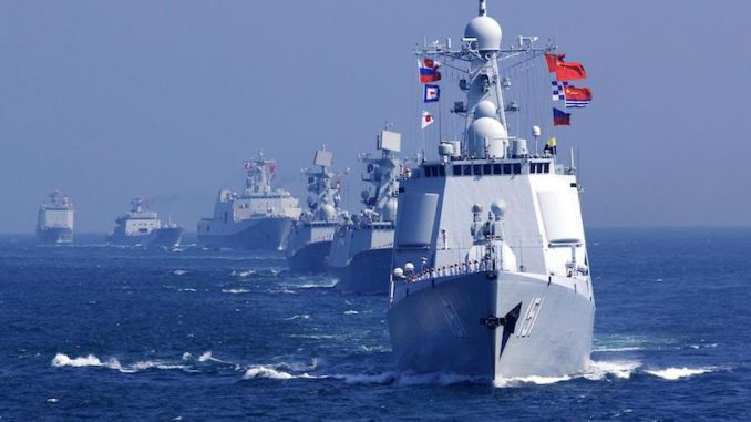 The Chinese Navy has put the US military on notice, warning them to remove a US warship patrolling the South China Sea, or face consequences.