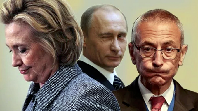 New evidence proves that the Democrats manufactured the Russian interference story as a disinformation campaign as far back as June 2016.