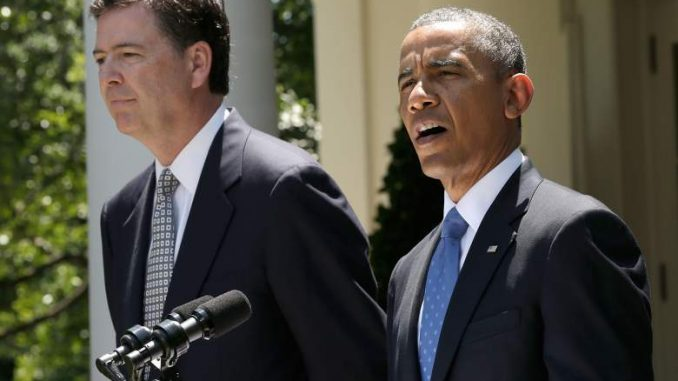 Security expert claims Comey was fired from the FBI after covering up Obama's wiretapping of Trump Towers