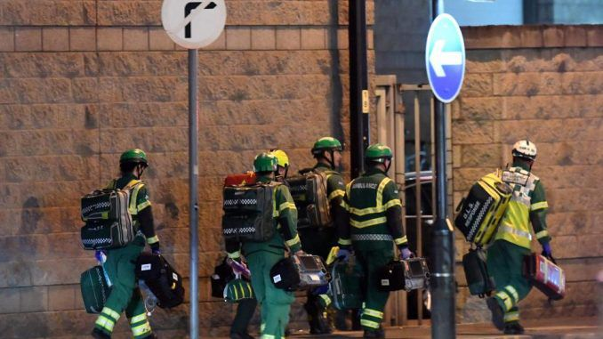 British firefighters furious at being blocked from helping Manchester terror attack victims