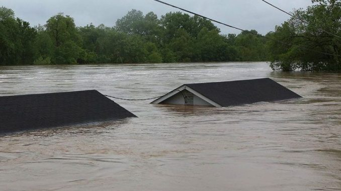 Entire towns submerged in water amid historic floods