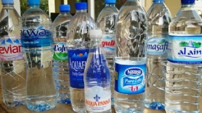 List of bottled waters containing fluoride leaked