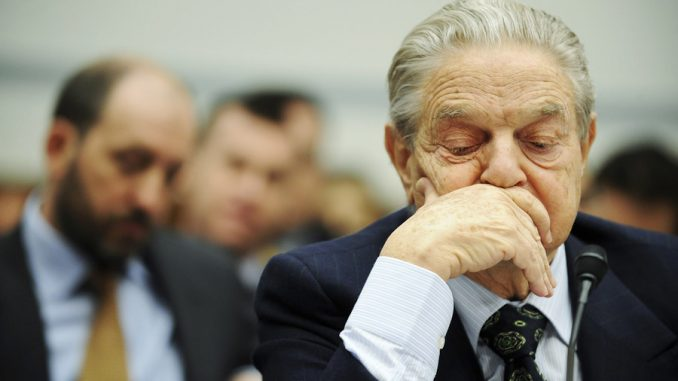 George Soros sued for $10 billion for interfering in elections